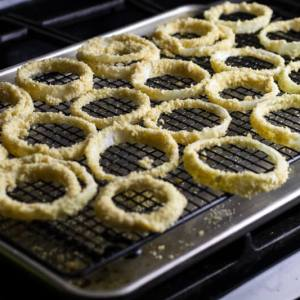 oven fried onion rings | chattavore