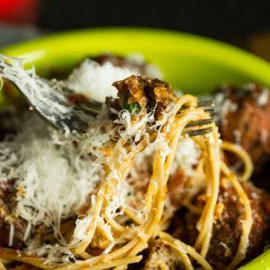 spaghetti and meatballs | chattavore
