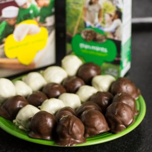 Girl Scout Cookie truffles | chattavore