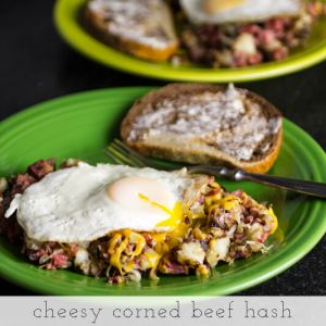 cheesy corned beef hash // chattavore