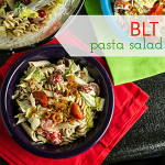 ... BLT Pasta Salad with Buttermilk Dressing Tortilla Pizzas with