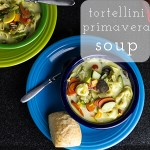 Tortellini Primavera Soup