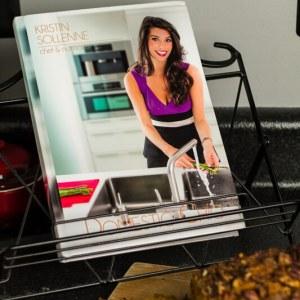 This pumpkin bread is an amazing Fall menu item from Kristin Sollenne's new cookbook Domestic Chic! | chattavore.com