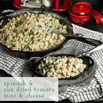 Spinach & Sun Dried Tomato Mac & Cheese