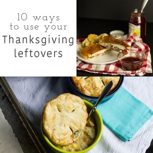 If you need some new ideas for your Thanksgiving leftovers, check out these 10 ways to use Thanksgiving leftovers!   Chattavore.com