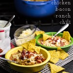 Bacon Ranch Chili with Chicken