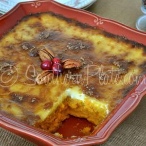 sweet potato creme brûlée from Southern Plate