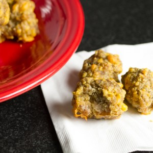 Sausage balls from scratch are a classic party favorite without the need for boxed mixes!   chattavore.com