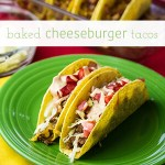 Cheeseburger Tacos (Baked)