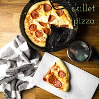 Quick and Easy Pizza Skillet + Video