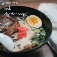 Two Ten Jack Chattanooga is an izakaya (Japanese gastropub) and ramen house located in downtown Chattanooga's Warehouse Row. | restaurant review from Chattavore.com