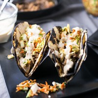 Asian Pork Tacos (Pressure Cooker/Instant Pot)