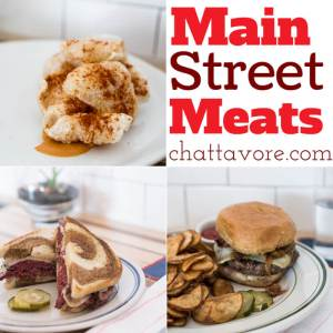 Main Street Meats, AKA the place with Chattavore's #1 burger, serves amazing food AND provides great local meats in their butcher shop. | restaurant review from Chattavore.com