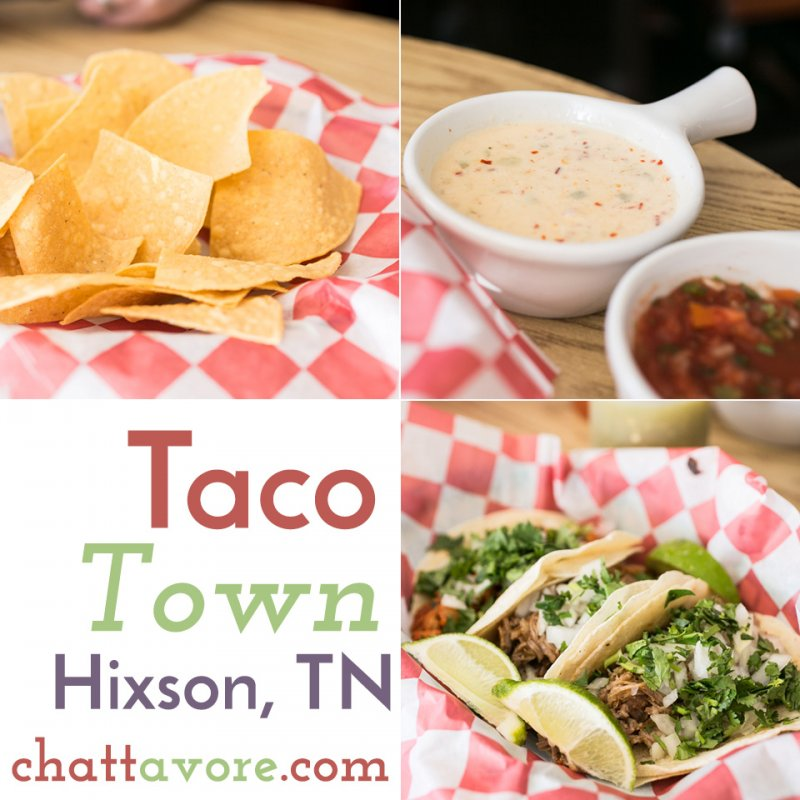 "Taco Town in Hixson, Tennessee is definitely a ""dive"", but it's clean and friendly and the tacos that they serve are so good you really don't care anyway. 