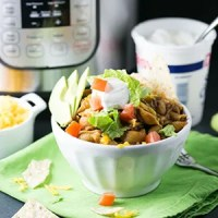 Instant Pot taco pasta is a simple sauté, dump, stir, lid, and top one-pot meal. There's minimal clean-up with maximum flavor and satisfaction! | recipe from Chattavore.com
