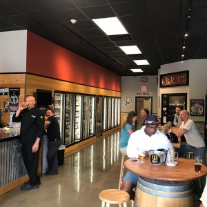 Philip went and bought a craft beer store, Sigler's Craft Beer & Cigars in East Brainerd!
