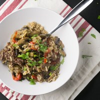 Stick of butter rice is a Southern classic...Instant Pot stick of butter rice and steak dinner will have your family asking for seconds! | Recipe from Chattavore.com