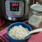 Cooking Rice in the Instant Pot