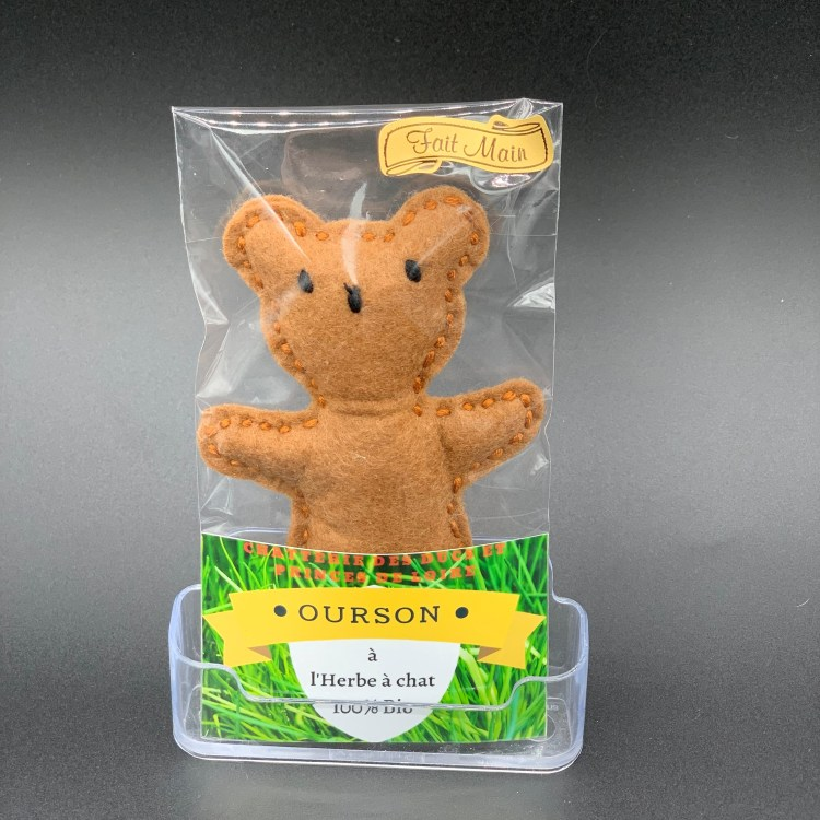 Jouet Ourson chat