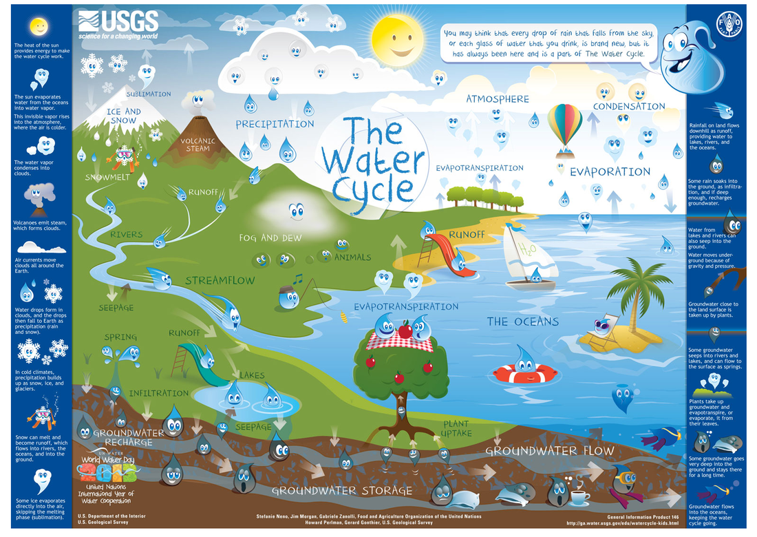 Water Cycle Games For 6th Graders
