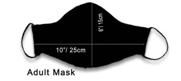Cotton Mask Monochrome Lehriya 4 https://chaturango.com/handmade-cotton-mask-monochrome-lehriya/