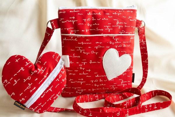 Handbag Heart Embossed Red White Text 2 https://chaturango.com/heart-embossed-fabric-crossbody-bag-navy-blue/