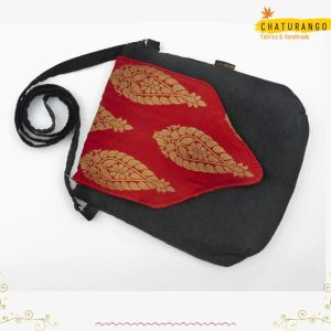 Chaturango - Buy Black Sling bags for Women Online at best price