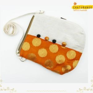 Chaturango - Buy Orange Sling bags for Women Online at best price