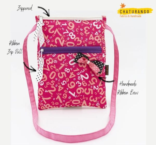 Happy Princess Red Numerals 2 https://chaturango.com/pink-sling-bag-for-girls-printed-numerals/