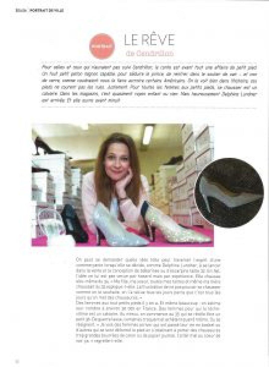Magazine urbanne hiver 2016-2017 - la presse parle de Petits Souliers - chaussures femme petite pointures