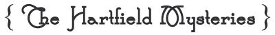 bookshelf  the hartfield mysteries
