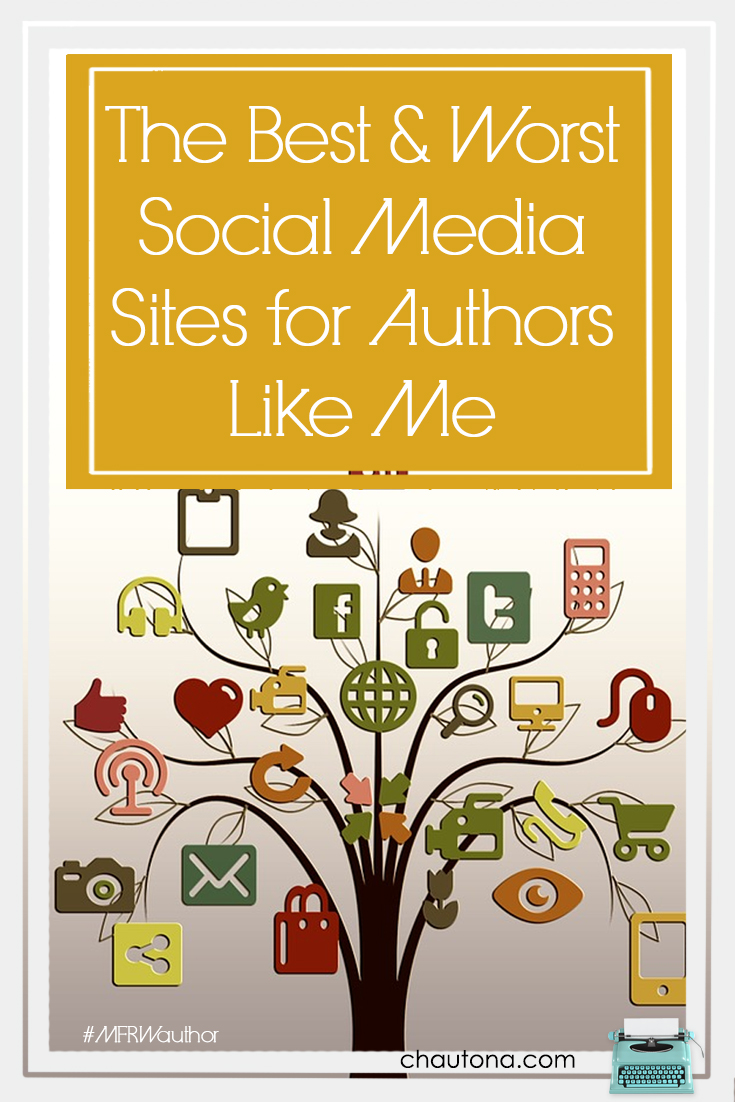 What I love and hate about social media and how it works for authors. My take on the best and worst sites and how I use each to connect with my readers.