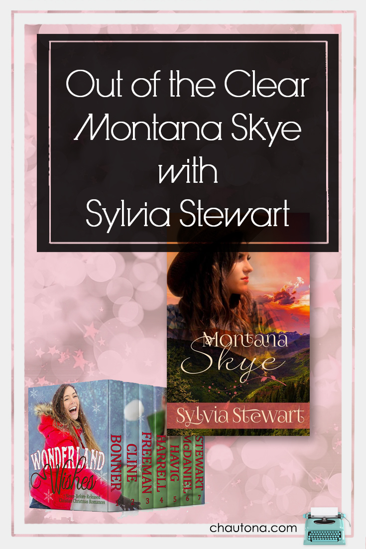 We're back again with another Wonderland Wednesday.  Today, we're having a chat with Sylvia Stewart, author of Montana Skye.