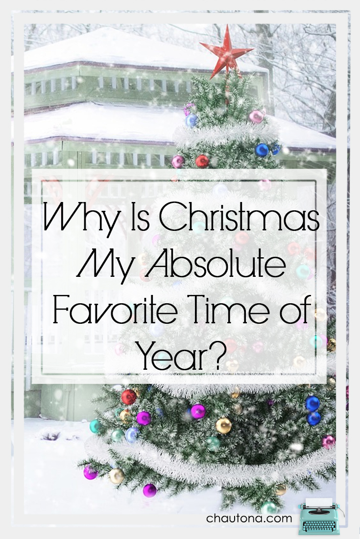 Anyone who knows me knows I love Christmas.  It's my absolute favorite time of year. From friends and family to traditions and music, here's why.