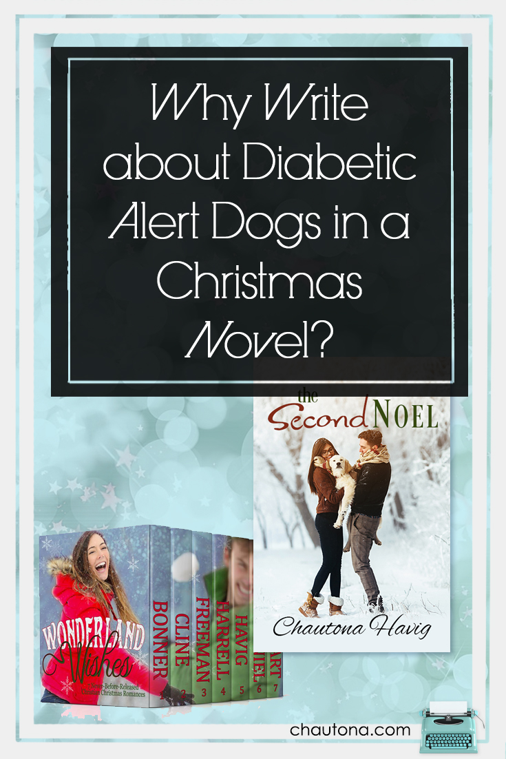 Diabetic Alert Dogs may seem like incongruous creatures in a romance, but there's more than one kind of romance just as there's more than one kind of love.