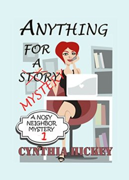 Cynthia Hickey Anything for a Mystery