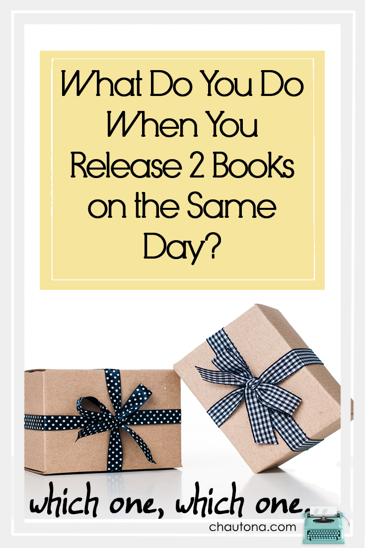 Not everyone is crazy enough to release 2 books in one day. Whoever said I wasn't crazy? Check out the books & the giveaways & specials we're offering.