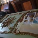cadre restauration dorure chaux room 6