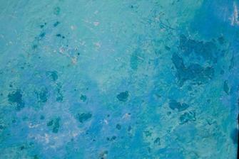 Chaux bleu Grèce vieillie chaux room
