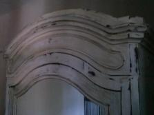 Mobilier blanchi par chaux room