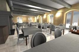 Visuel 3d salle a manger avant chantier Chaux Room