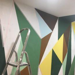Formes géométriques sur mur Chaux-Room (6)