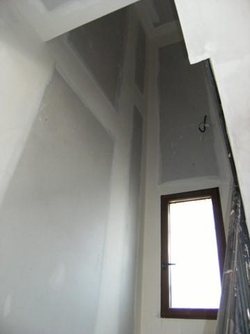 Chantier peinture traditionnelle du bâtiment Chaux Room