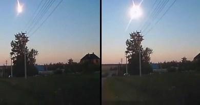 Foto do meteoro...