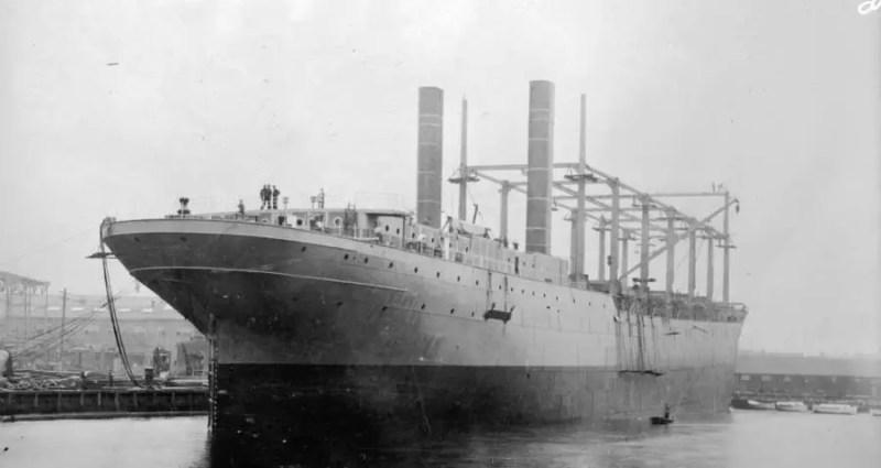 Foi no início de janeiro de 1918, que o Ciclope foi designado para reabastecer navios britânicos na costa do Brasil. Menos de dois meses depois, seria para sempre