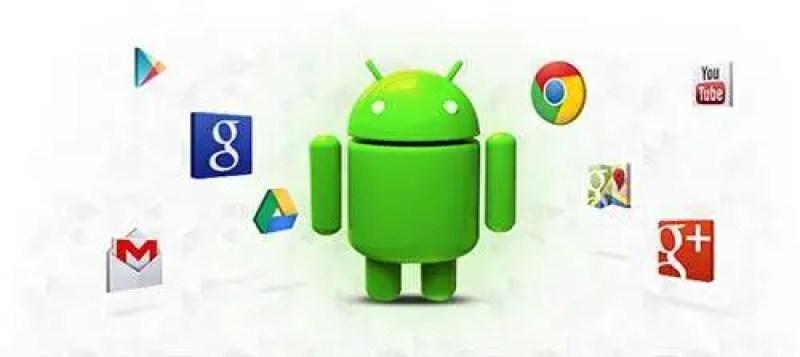 O Android, representado pelo robôzinho verde, é o sistema operacional desenvolvido do Google