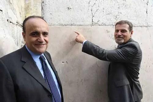 O graffiti na parede da casa - foto Parco Archeologico di Pompei