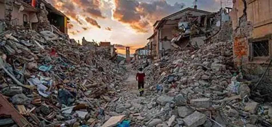 Os cientistas dizem que um terremoto de magnitude 8,0 ou mais ocorre a cada 250 anos
