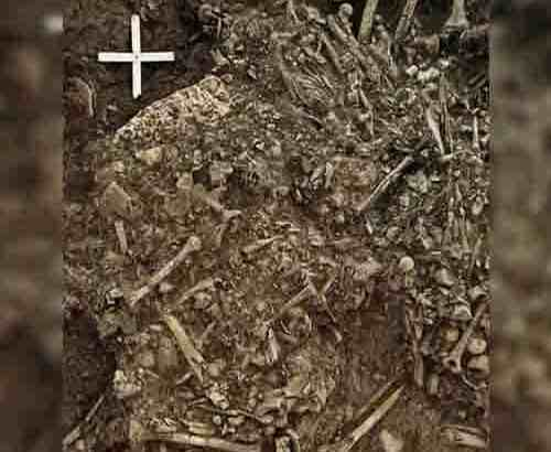 Encontram a mais antiga evidência da peste negra, nos ossos da mulher…