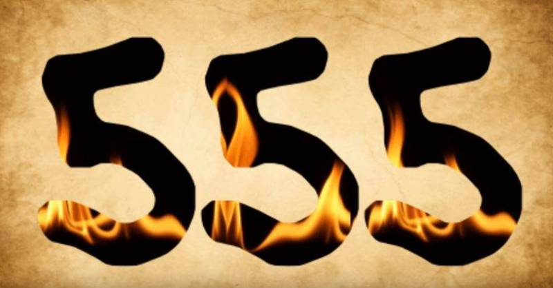 pessoas que constantemente ve o 555 constantemente